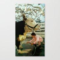 Flocking Canvas Print