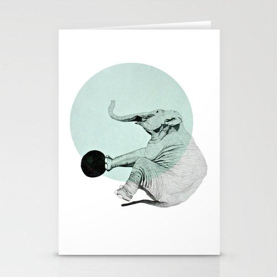 elephant Stationery Card