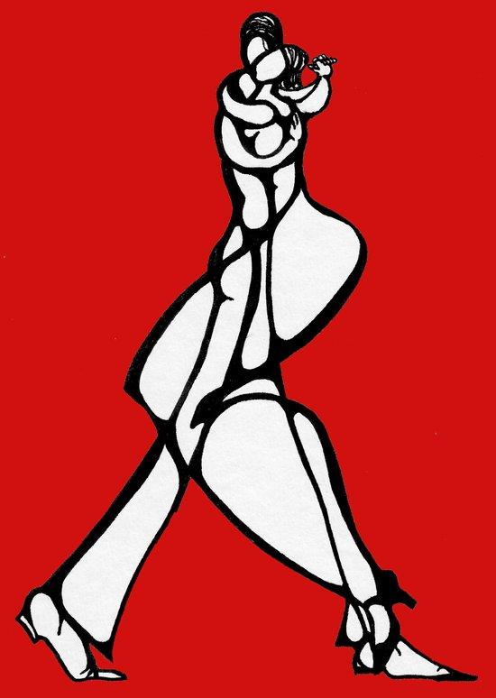 Tango... Art Print