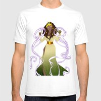 The Sorceress Mens Fitted Tee White SMALL