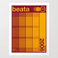 Art Print featuring beata single hop by committee on opprobriations