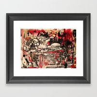 Red Nation Framed Art Print