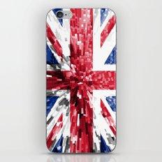 Britain Flag - Extrude iPhone & iPod Skin