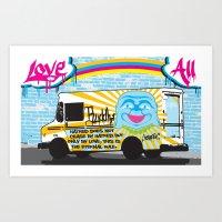 Love All Art Print