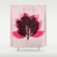 Blossom Pink Shower Curtain