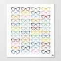 Glasses #2 Canvas Print