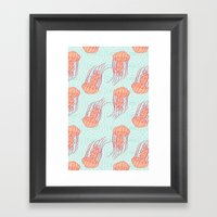 Jellyfish Framed Art Print