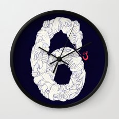 S6 Tee - Many Wall Clock