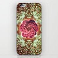 Violet Femme iPhone & iPod Skin