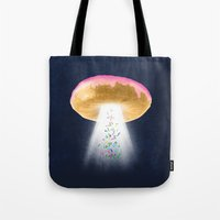 Unidentified Frying Object Tote Bag