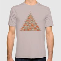 Triangulation Mens Fitted Tee Cinder SMALL