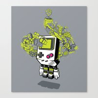 Pixel Dreams Canvas Print
