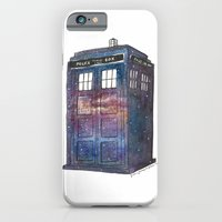 iPhone & iPod Case featuring Doctor Who Galaxy Tardis by Trisha Thompson Adams