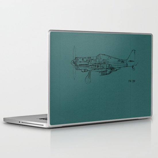 FW - 190 (Colour) Laptop & iPad Skin