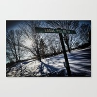 Sign Of Direction Canvas Print