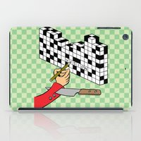 RAZOR CROSSWORD iPad Case