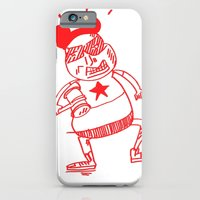iPhone & iPod Case featuring villain in red by ana javier