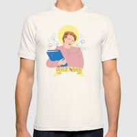 Praise Barb Mens Fitted Tee Natural SMALL