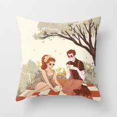 Hades & Persephone Picni… Throw Pillow
