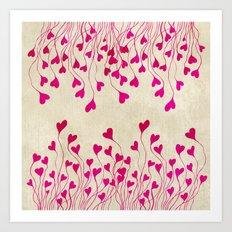 Heart You Art Print