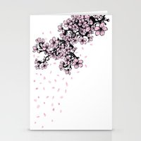 Sakura Cherry Blossom Stationery Cards