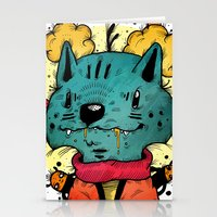 Wolfy (Color Version) Stationery Cards