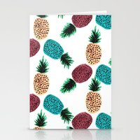Weird Pineapples Stationery Cards