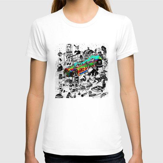 GLOBAL A GO-GO T-shirt