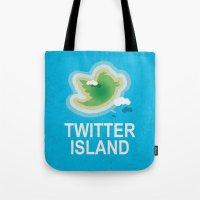 Twitter Island Tote Bag