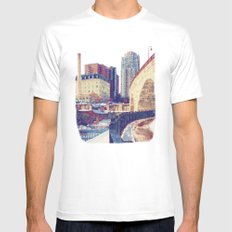Arch SMALL White Mens Fitted Tee