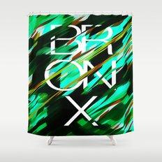 CAMO BRONX II Shower Curtain