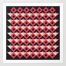 MRABA pattern 5 Art Print