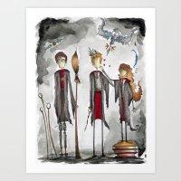 Potter Love Art Print