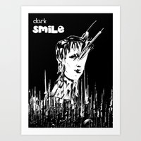 Dark Smile Art Print