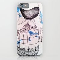 iPhone & iPod Case featuring Human flight by Zina Nedelcheva