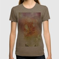 Pretty  dreams Womens Fitted Tee Tri-Coffee SMALL