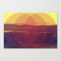Meet Me Canvas Print