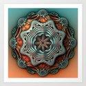 Cupro Art Print