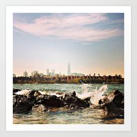 View from Williamsburg Art Print