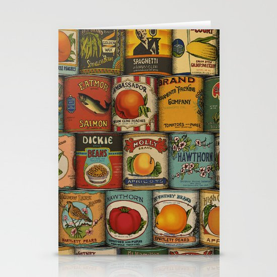 Canned in the USA Stationery Card