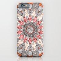 mandala iPhone & iPod Cases featuring manDala by Monika Strigel