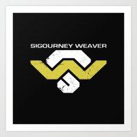 Sig Weav Art Print