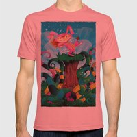 sTROLL Mens Fitted Tee Pomegranate SMALL