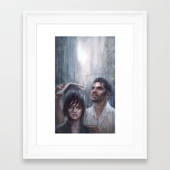 Mass Effect - Vancouver Framed Art Print
