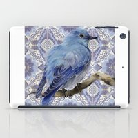 Blue Bird iPad Case