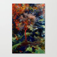 Yalnız Ağaç Canvas Print