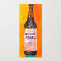 Bourbon Count Vanilla Rye Beer Canvas Print