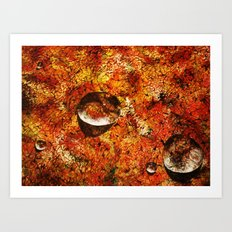 Abstract Texture  Art Print