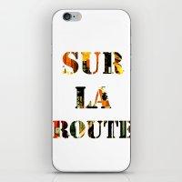 Sur La Route iPhone & iPod Skin