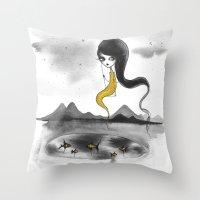 Fishie Throw Pillow